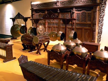 Example Gamelan instruments from Wikimedia